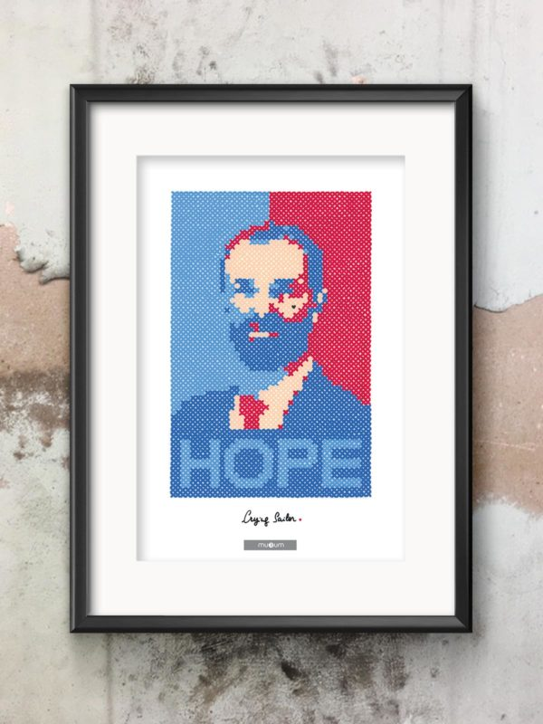 muRum x Crying Sailor - Affiche HOPE Michael Delafosse