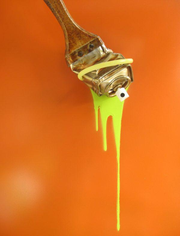muRum - Tieri Trademark - Spraybrush Orange 35x33 GP